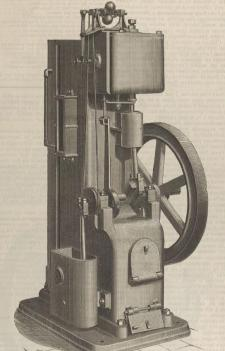 Daveys engine 1885
